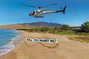 Picture of Beach Proposal Flight